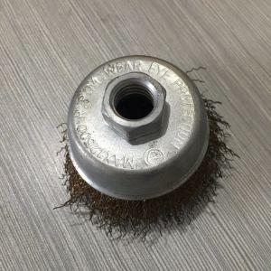 New Design Kseibi Orange Cup Crimped Cup Brush pictures & photos