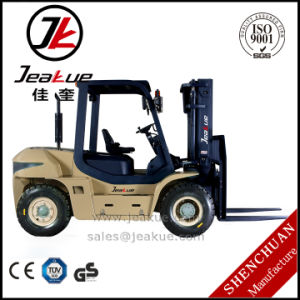 Compact 5t Diesel Forklift with Latest Promotion Price pictures & photos