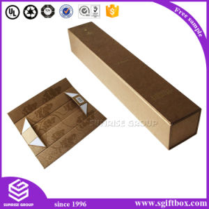 Custom Logo Print Kraft Paper Box Slide Open Box pictures & photos