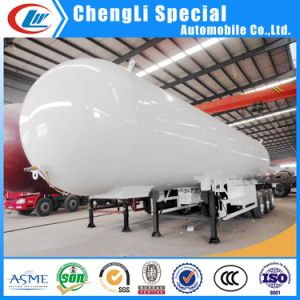 Tri-Axles 56000liters Liquified Petroleum Propane Gas LPG Tanker Semi Trailer 25tons pictures & photos