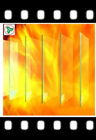6-15mm Fire Proof Glass/Fireproof Glass with ISO9001/Ce pictures & photos