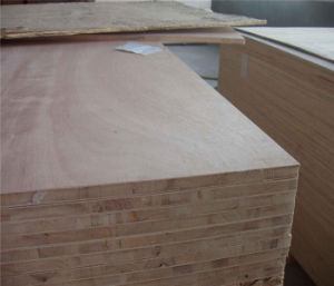 Commercial Grade Blockboard Plywood 16mm pictures & photos