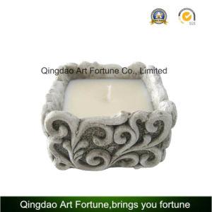 Cement Citronella Candle Garden Lantern for Outdoor Decor pictures & photos