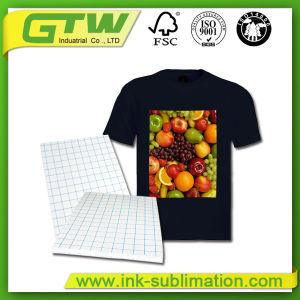 High Quality PU Coating Layer, Easy Cutting Dark T-Shirt Transfer Paper for 100% Cotton Fabric pictures & photos