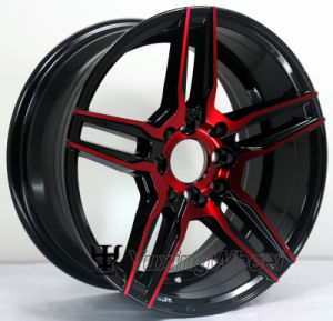CB 73.1 Hot Selling 8 Holes Black Wheel Rims for Car pictures & photos
