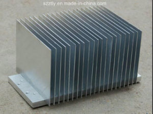 Factory Direct Supply 6063 6061 Aluminum Extruded Machined Heatsink OEM Is Most Welcomed pictures & photos