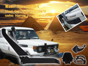 Car Snokrl for Narrow Front Landcruiser Snorkel pictures & photos