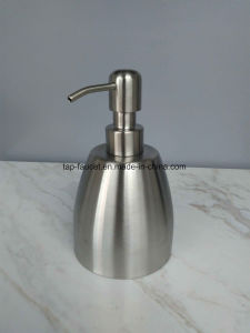 Barrel Shape Lifetime Wearable Stainless Steel Washroom Soap Container pictures & photos