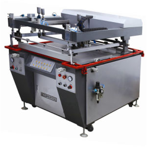 TM-120140 Semi-Automatic Flat Ce Cloth Silk Screen Printing Machine pictures & photos