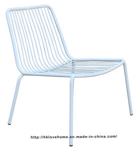 Modern Stackable Side Steel Wire Leisure Chairs pictures & photos