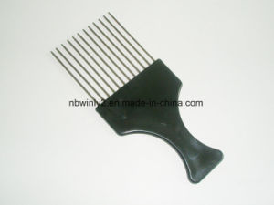 Metal Pin Black Plastic Comb pictures & photos