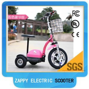 2017 3 Wheels Electric Scooter Older People 500W Brushless Motor pictures & photos