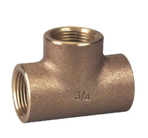Bronze or Lead Free Tee/Pipe Fitting (P32005) pictures & photos