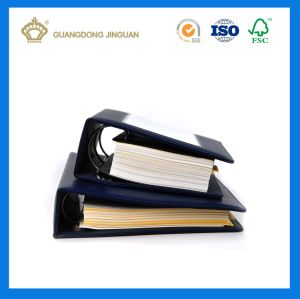 Spiral Binding Leather Hard Cover Wire-O Book (High Quality Book Printing) pictures & photos