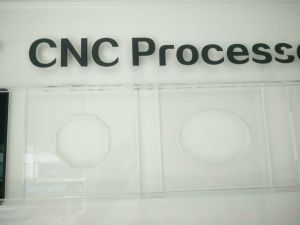 CNC Processed Glass Panel with AS/NZS 2208: 1996 and En12150 Certificate pictures & photos
