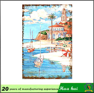 Wall Decor Seascape Wall Hanging Metal Picture C176 pictures & photos