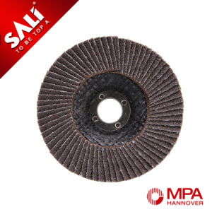 High Quality Abrasive Polishing Stainless Steel Metal Wood Calcined Alumina Oxide Flap Wheel pictures & photos