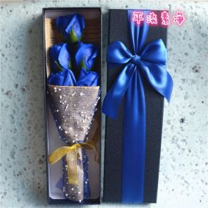 New Romantic Wedding Bath Soap Rose Flower pictures & photos