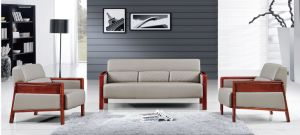 Modern Office Furniture White Leather Officed Sofa (HX-CF026) pictures & photos
