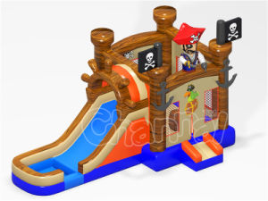 Pirate Design Inflatable Water Slide Combo for Kids Party (CHB1203) pictures & photos