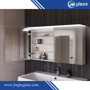 5mm LED Backlit Mirror Cabinet for Bathroom pictures & photos