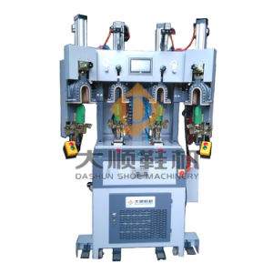 Ds-802A Hot & Cold Air-Type Back Part Molding Machine for Shoe pictures & photos