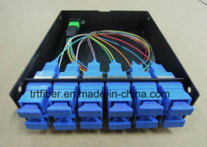 12 Port MTP/ MPO Patch Panel for MPO Casstte pictures & photos