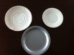 Disposable Plastic Plates Making Machine pictures & photos