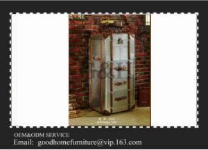 Metal Frame Rustic Aluminium 3 Drawers Cabinet pictures & photos