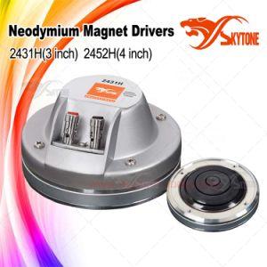 "DJ Hf Tweeter 2431h 3"" Diaphragm 1.5"" Exit Neo Speaker Driver pictures & photos"