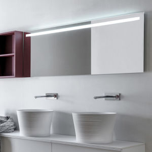Lighted High-End Luxury Bathroom Wall Fluorescent Backlit Mirrors pictures & photos