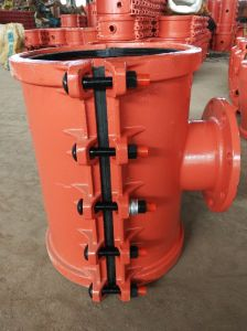 Hot Tapping Saddle Dn300X500-150, Branch Saddle for Ci, Di Pipe pictures & photos