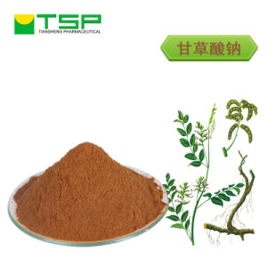 GMP Factory Supply Licorice Root Extract 95% Trisodium Glycyrrhizinate pictures & photos