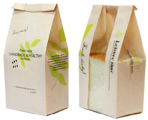 Popular in Food Paper Bag for Bread pictures & photos
