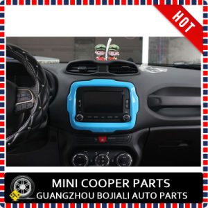 Auto Accessory ABS Material Blue Style Central Trim for Renegade Model (1PC/SET) pictures & photos