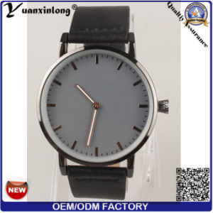 Yxl-092 Marble Stone Watch Face Stainless Steel Watch Case Genuine Leather Fashion Watch Vogue Elegant Ladies Watch Wholesale pictures & photos