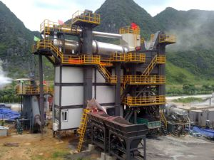 80t/h asphalt recycling equipment, recycling plant pictures & photos