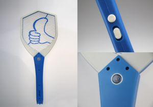 CE&RoHS Electric Mosquito Swatter for European Markets pictures & photos