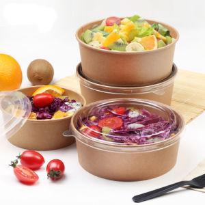 Customized Cheap Disposable Paper Soup Bowl/Dumpling Bowl with Lid pictures & photos