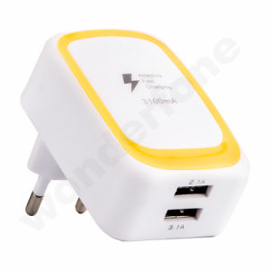 2 USB UV Oil Plastic Travel Charger pictures & photos
