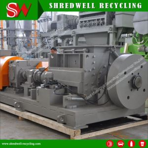 Quality Scrap/Waste/Used Tire Recycling Machine Producing Paving Rubber Mulch pictures & photos