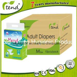OEM Adult Diaper Brief Supplier Manufactory High Absorption Quality Wholesale Nappy Magic Tape pictures & photos