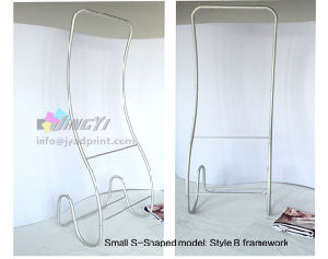 Cobra Shaped aluminum frame snake tension fabric display stand banner pictures & photos