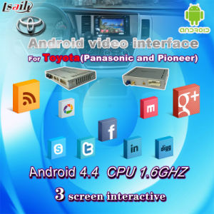 Android Video Interface GPS Navigation for Toyota Sienna pictures & photos