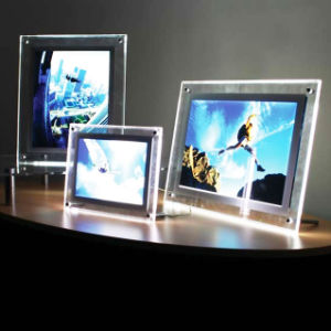 Acrylic Crystal LED Light Box pictures & photos
