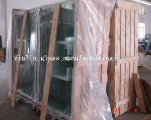 Tempered Glass Laminated Glass Color Ceramic Fritted Glass for Basketball Backboards pictures & photos