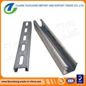 Hot Dipped Galvanized Steel Strut Channel C Channel pictures & photos