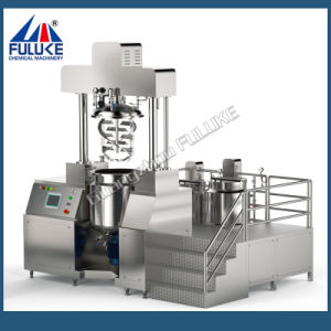 Fuluke Shampoo, Lotion, Facial Cream Making Machine Vacuum Emulsifying Mixer Machine, Cosmetic Manufacturing Equipment pictures & photos