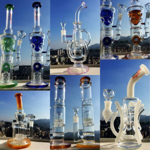 Mix Model Recycler Tobacco Glass Water Pipe Height 7-22inch Smoking Pipe Hbking Hitman pictures & photos
