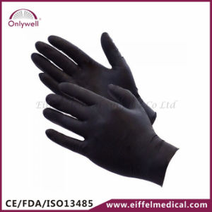 Medical Disposable Powdered Latex Examination Gloves pictures & photos